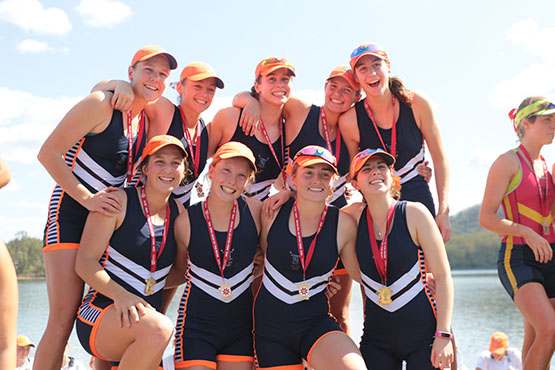St Margaret's first VIII take Head of the River title for 2019